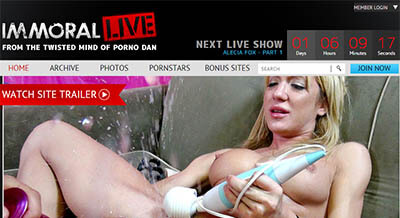 Immoral Live<br><strong>SAVE 50%</strong>