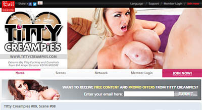Titty Creampies<br><strong>SAVE 50%</strong>