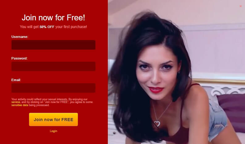 Special promotion by LiveJasmin