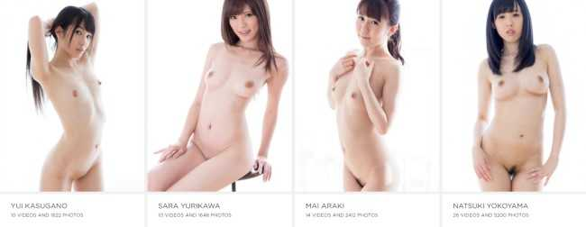 Models from Ura Lesbian - Read the full site review at Dark Angel Reviews