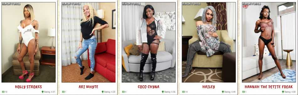 Reviews of the best ebony tgirl sites - Visit Darkangelreviews.com for more then 750+ reviews of the best porn sites